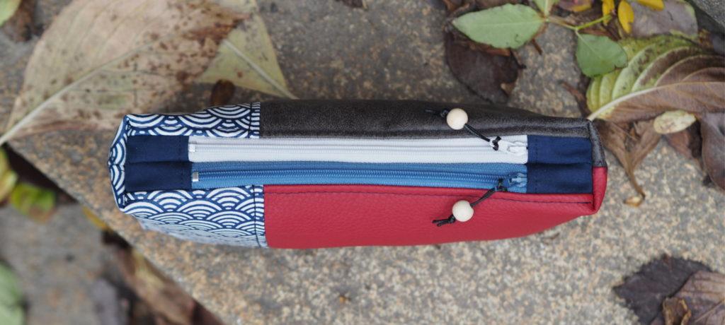 Tutorial Doppel Reißverschluss Täschchen weisnähschen nähen 5